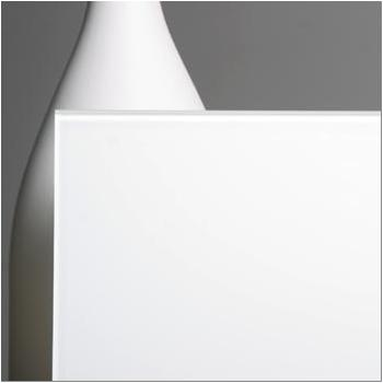 White Backpainted Low Iron swatch