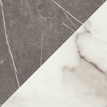 Pietra Grey Statuary White swatch