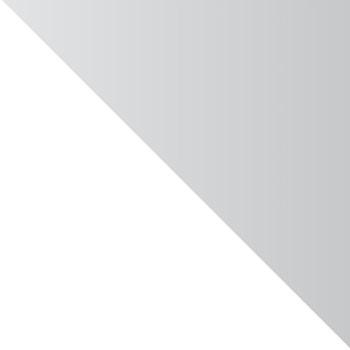 Gloss White/chrome swatch